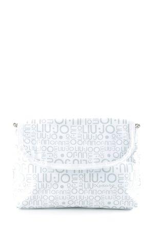 Liu jo Clutch wollweiß-grau extravaganter Stil