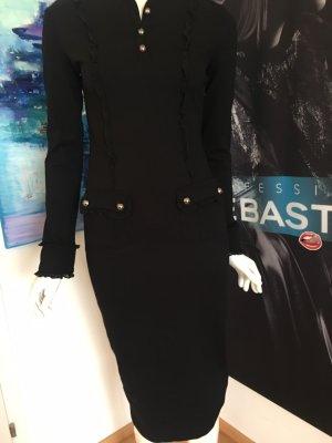 Liu Jo Designer Kleid Schwarz Hammer nie getragen 34/36 ital 40