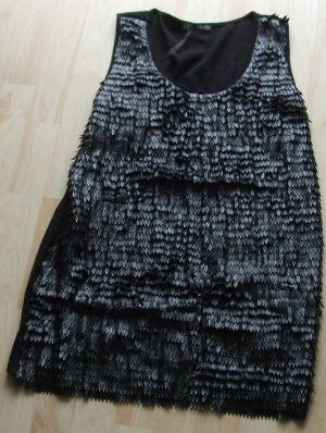 LIU JO Elegantes Shirt  - Kunstleder-.Besatz