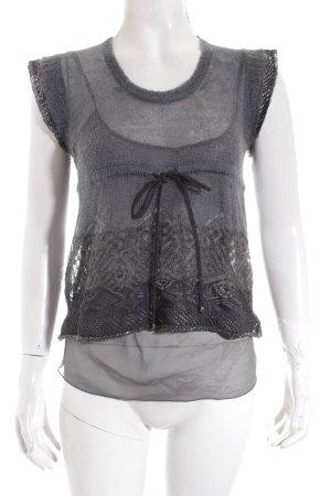 Liu jo Feinstrickpullunder grau Street-Fashion-Look