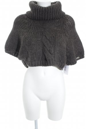 Liu jo Fine Knitted Cardigan grey brown casual look