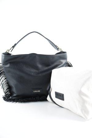 Liu jo Fringed Bag black Boho look