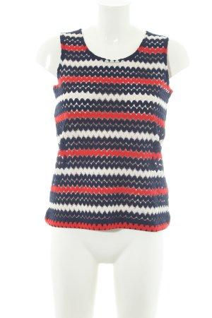Liu jo Crochet Top zigzag pattern casual look