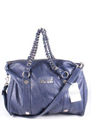 Liu jo Handtasche dunkelblau Leder-Optik