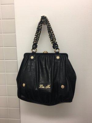 Liu Jo Handtasche schwarz mit goldenen Details
