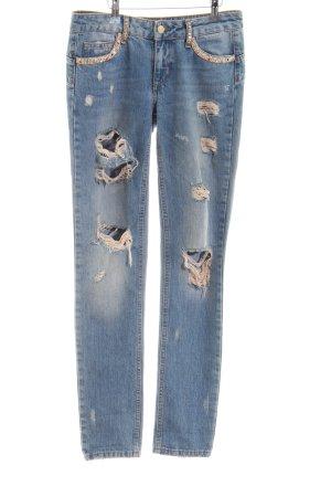 Liu jo Low Rise jeans blauw casual uitstraling