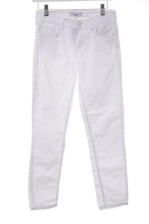 Liu jo Jeans taille basse blanc style athlétique