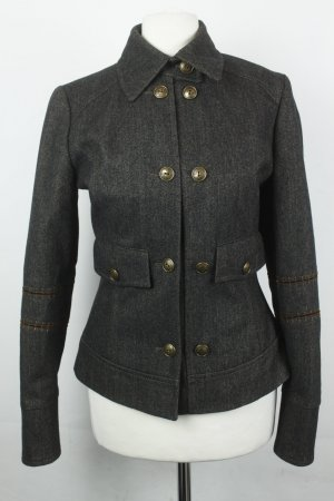 Liu jo Chaqueta de lana marrón oscuro tejido mezclado