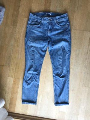 LIU JO Jeans Boyfriendschnitt cropped Gr 26