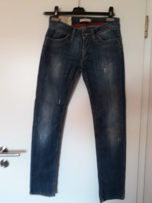 Liu jo Drainpipe Trousers dark blue cotton
