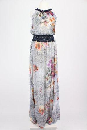 Liu Jo Jeans Maxikleid mit Muster mehrfarbig Größe ital. 42