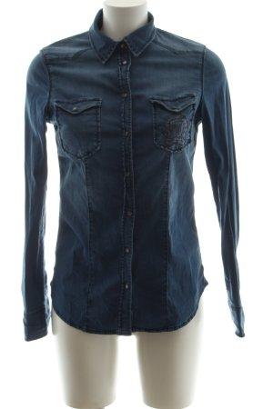 Liu jo Chemise en jean bleu style décontracté