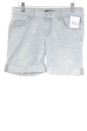 Liu jo Denim Shorts light blue casual look