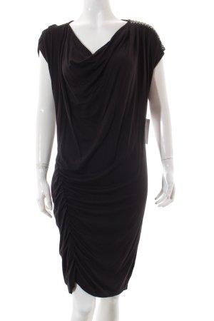 Liu jo Kleid schwarz-silberfarben Casual-Look