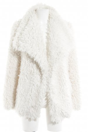 Liu jo Fake Fur Jacket natural white fluffy