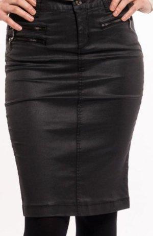 Liu jo Faux Leather Skirt black lyocell