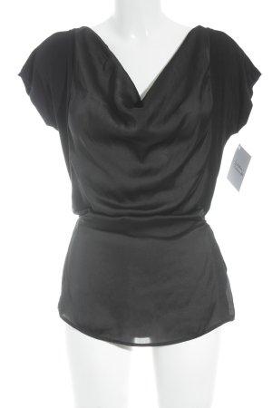 Liu jo Kurzarm-Bluse schwarz Elegant