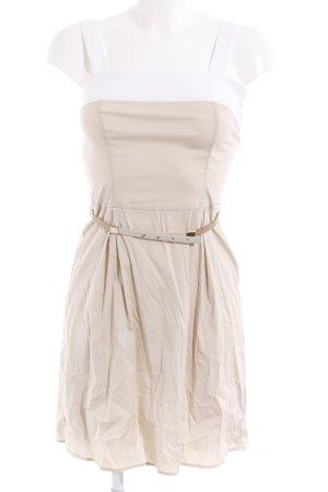 Liu jo Kurzarmkleid wollweiß-beige Elegant