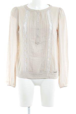 Liu jo Langarm-Bluse creme Elegant