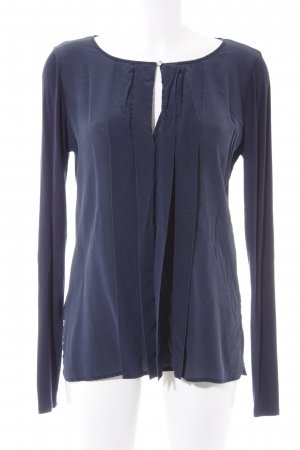 Liu jo Langarm-Bluse dunkelblau Casual-Look