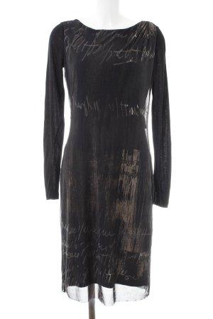 Liu jo Langarmkleid schwarz-dunkelgrau Elegant