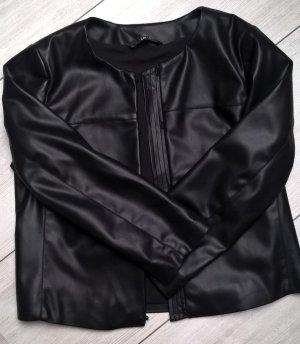 Liu jo Leather Jacket black imitation leather
