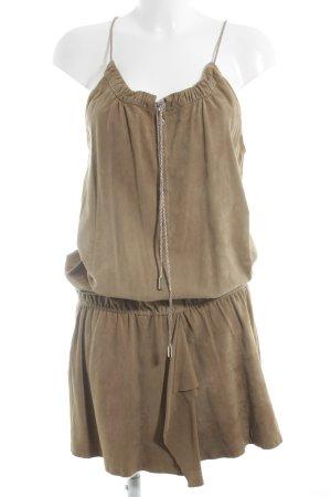 Liu jo Leather Dress camel Boho look