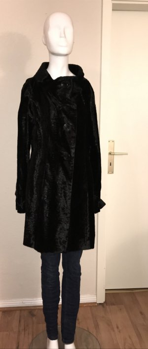 Liu Jo Mantel 38 M schwarz samt neuwertig