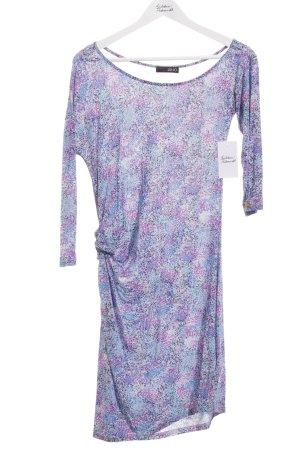 Liu jo One-Shoulder-Kleid abstraktes Muster Casual-Look