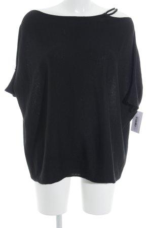 Liu jo Oversized Pullover schwarz Casual-Look