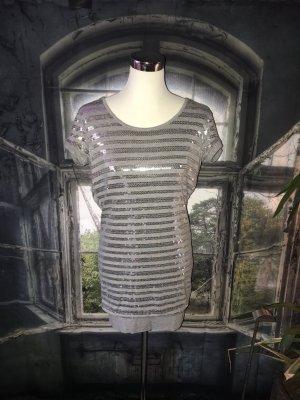 Liu jo Abito con paillettes argento-grigio
