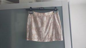 Liu jo Miniskirt nude-natural white mixture fibre