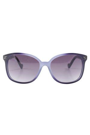 Liu jo runde Sonnenbrille blauviolett Casual-Look