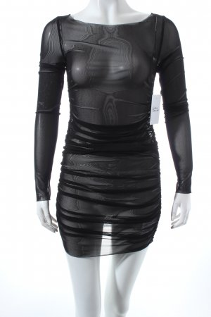 Liu jo Tube Dress black transparent look
