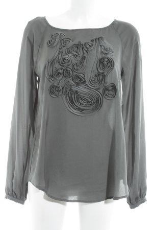 Liu jo Schlupf-Bluse dunkelgrün klassischer Stil