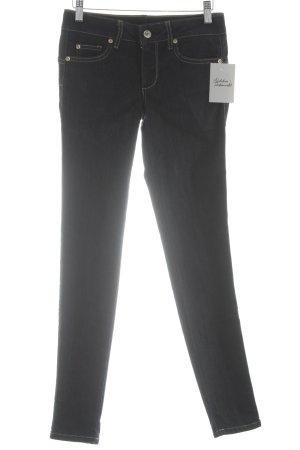 Liu jo Skinny Jeans dark blue flecked street-fashion look