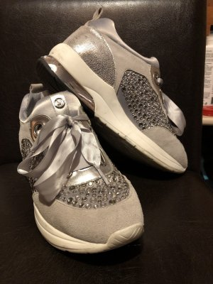 Liu jo Wedge Sneaker silver-colored-light grey