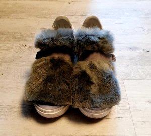 LIU-JO Sneaker mit Fell