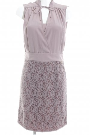 Liu jo Lace Dress mauve-grey lilac flower pattern elegant
