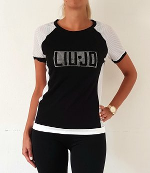 Liu jo T-Shirt white-black
