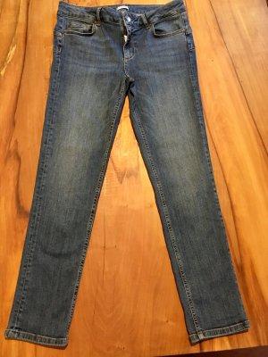 Liu jo 7/8 Length Jeans steel blue cotton