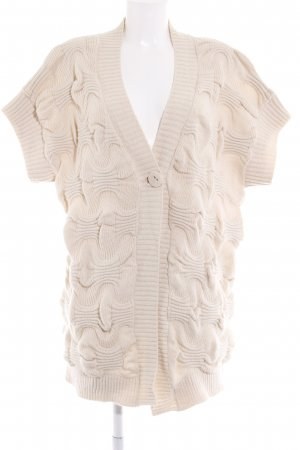 Liu jo Strickjacke hellbeige Casual-Look