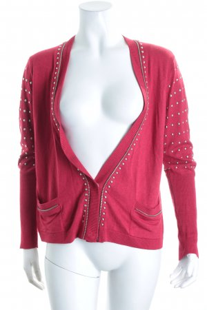 Liu jo Strickjacke rot Street-Fashion-Look