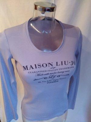 Liu jo Long Sleeve Shirt grey violet