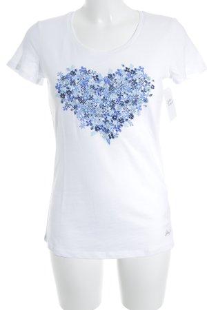 Liu jo T-Shirt Herzmuster casual look