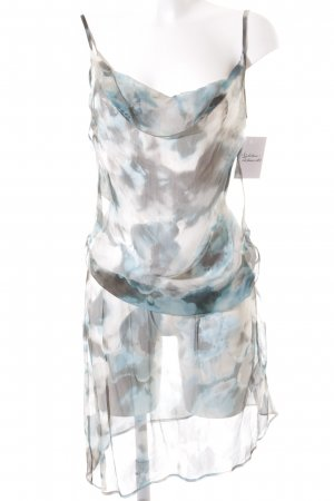 Liu jo Trägerkleid abstraktes Muster Elegant