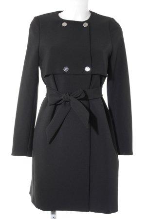 Liu jo Trenchcoat zwart extravagante stijl