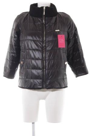 Liu jo Winterjacke schwarz-silberfarben Casual-Look