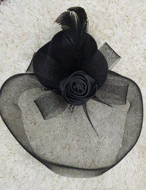 LivCo Corsetti 》Fascinator Mini Top Hat / Hut schwarz