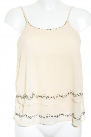 live 4 truth Spaghettiträger Top nude Casual-Look